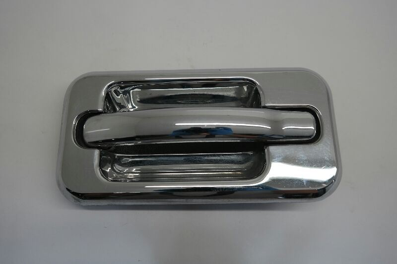 for HUMMER H2 DOOR HANDLE REAR DRIVER LEFT SIDE 2003 2004 2005 2006  w chrome