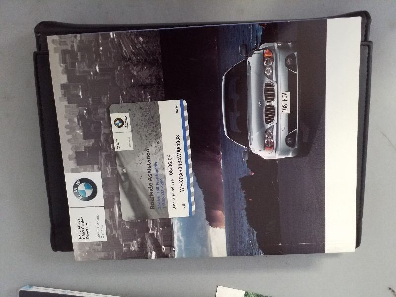 bmw owners manual case