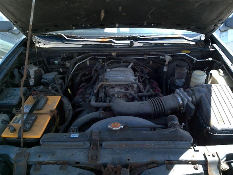 1999-2001 Isuzu Vehicross Engine Bay Wiring with Fuse Box ...