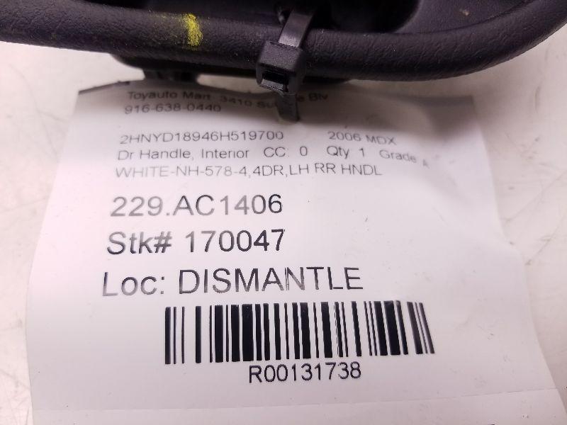 Details about MDX 2006 DRIVER LEFT REAR INTERIOR DOOR HANDLE