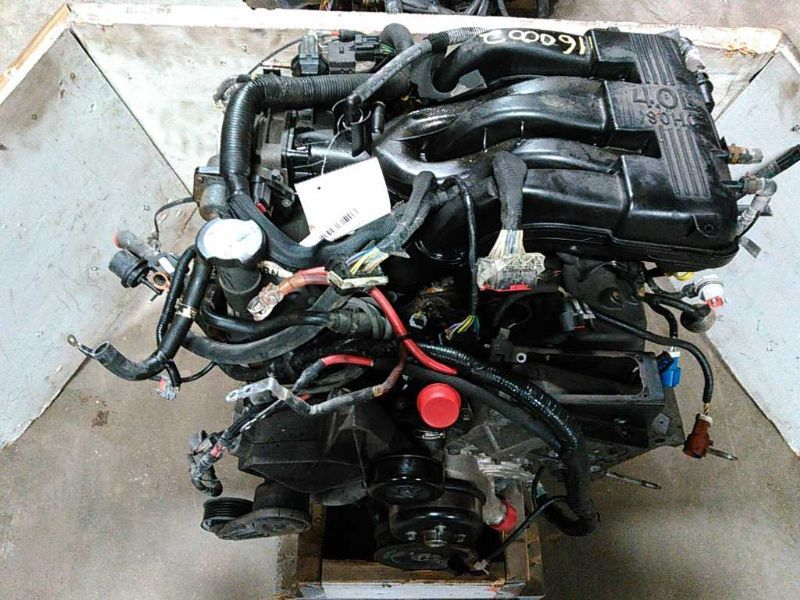 06 07 08 Ford Explorer Engine Motor 4 0l Vin E 8th Digit