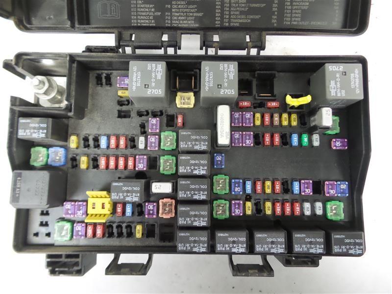 2015 dodge 2500 cummins fuse box 6 7l diesel tipm power supply rh cafr ebay ca
