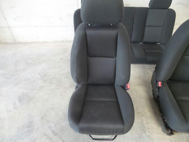 0004b1ba15 2011 SILVERADO SEATS EXTENDED CAB SEAT SET 468638
