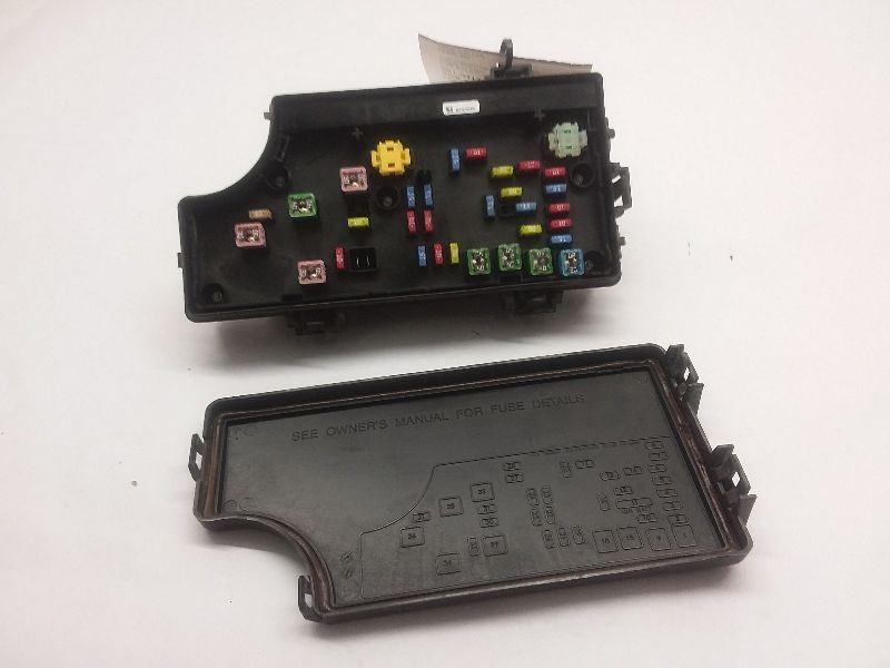 15 2015 Jeep Compass Tipm Fuse Box Body Control Power Module