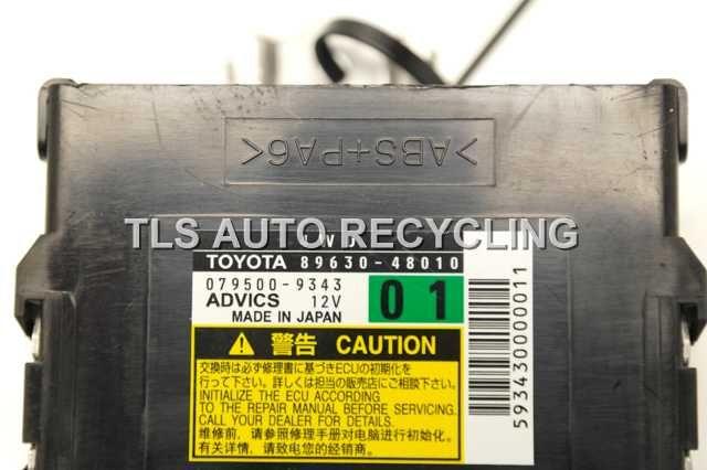 4wd control unit 13 14 15 Lexus RX350 module computer 89630-48010