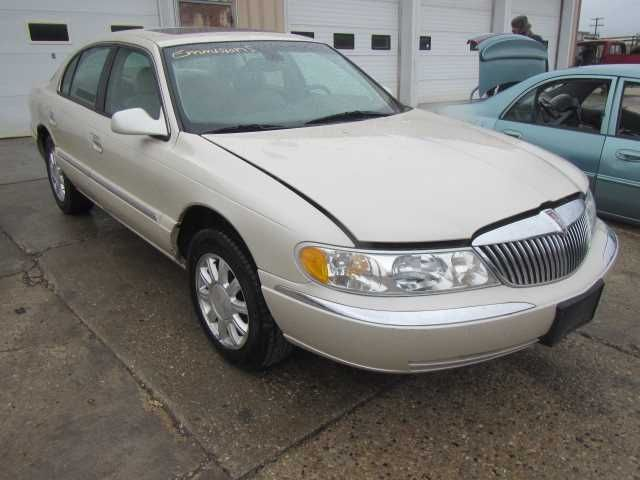 99 00 01 02 LINCOLN CONTINENTAL CHIS ECM AIRBAG FRONT BELOW ...