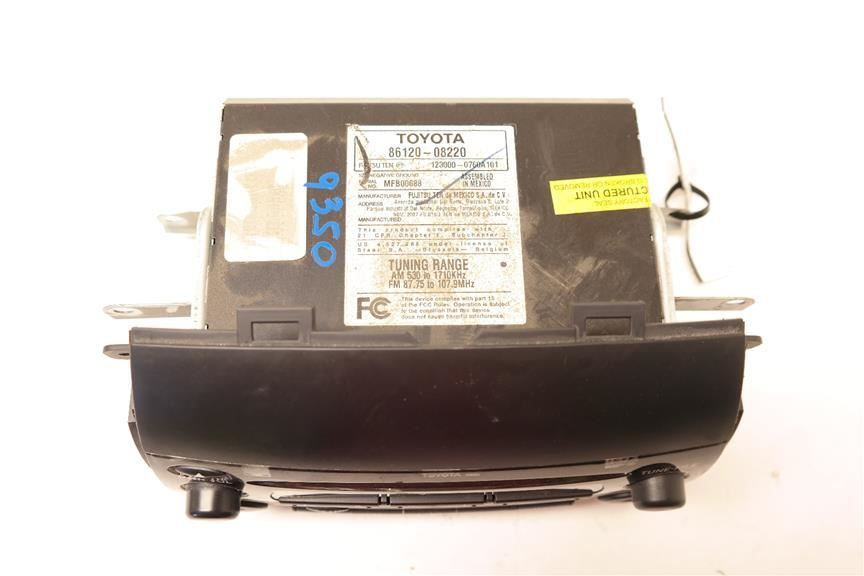 Audio Radio Receiver Dash Fujitsu Ten 86120