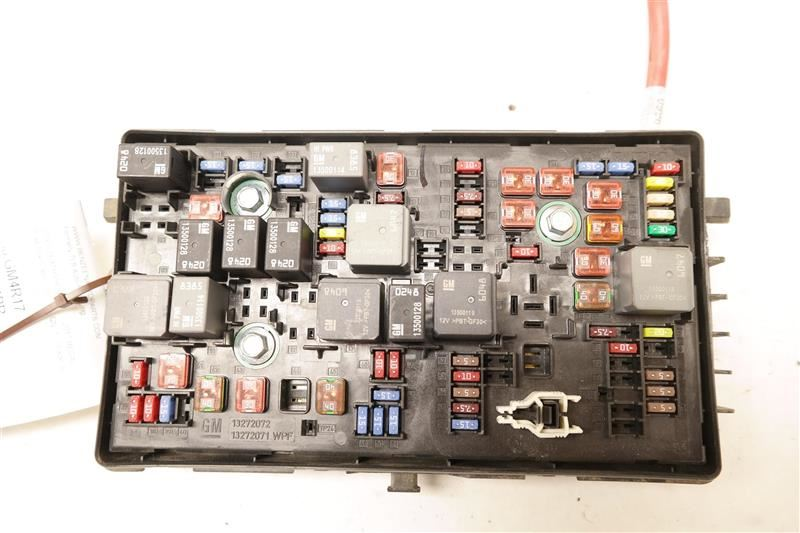 Cabin Fuse Box 13272072 Fits 2017 Buick Regal Oem
