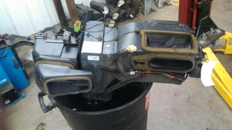 2001 Jeep Wrangler Heater