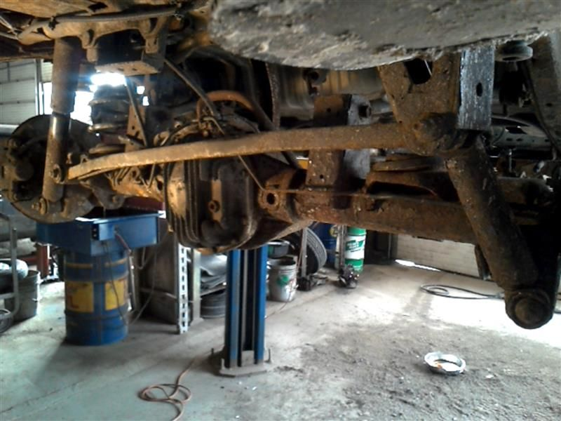 Details about 98 99 00 01 02 03 ISUZU RODEO REAR AXLE ASSEMBLY 343734