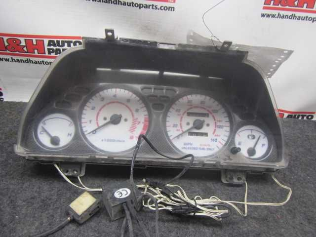 92 93 ACURA INTEGRA SPEEDOMETER CLUSTER GS MT 25455