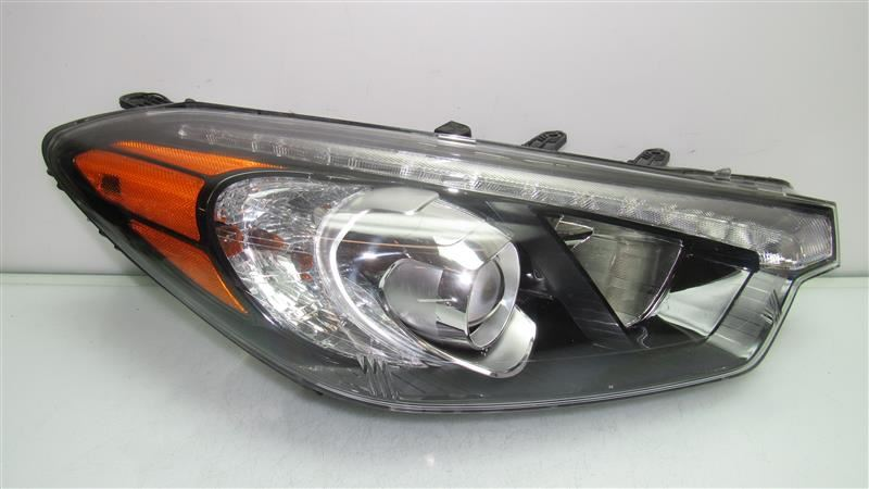 KIA FORTE HEADLIGHT HALOGEN HEADLAMP RIGHT WITH LED ACCENT
