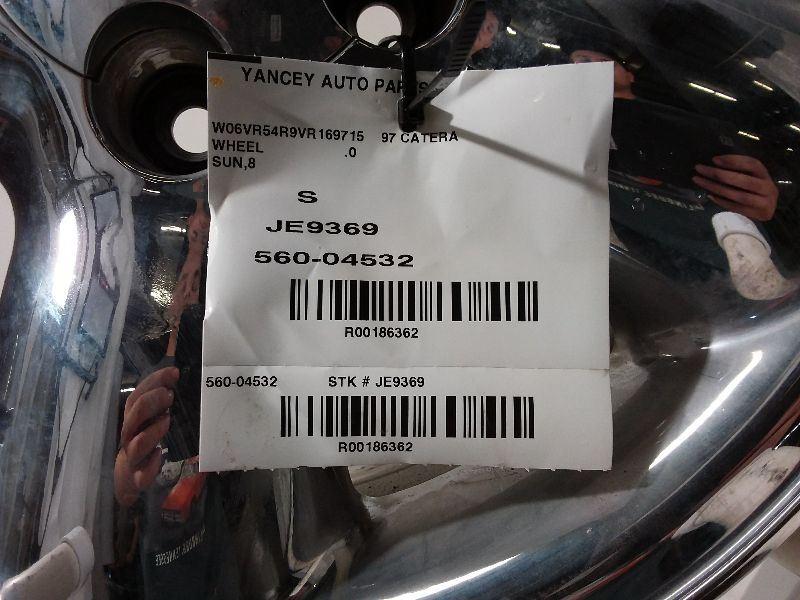 97 98 99 Cadillac Catera WHEEL RIM 16X7 Aluminum 5 Spoke Chrome