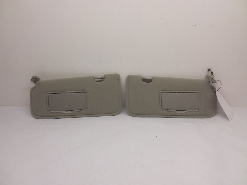 Nice OEM Pair Gray 01-09 Ford Escape Or Mazda Tribute Sun Visors  e67cee35fce