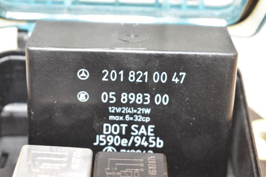 Mercede 190e Fuse Box