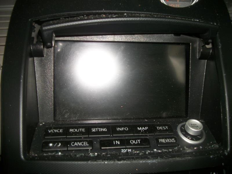 06 nissan x trail screen display screen navigation dash 1279739 ebay rh ebay com 350Z Wood Grain 350Z Navigation Control Switch