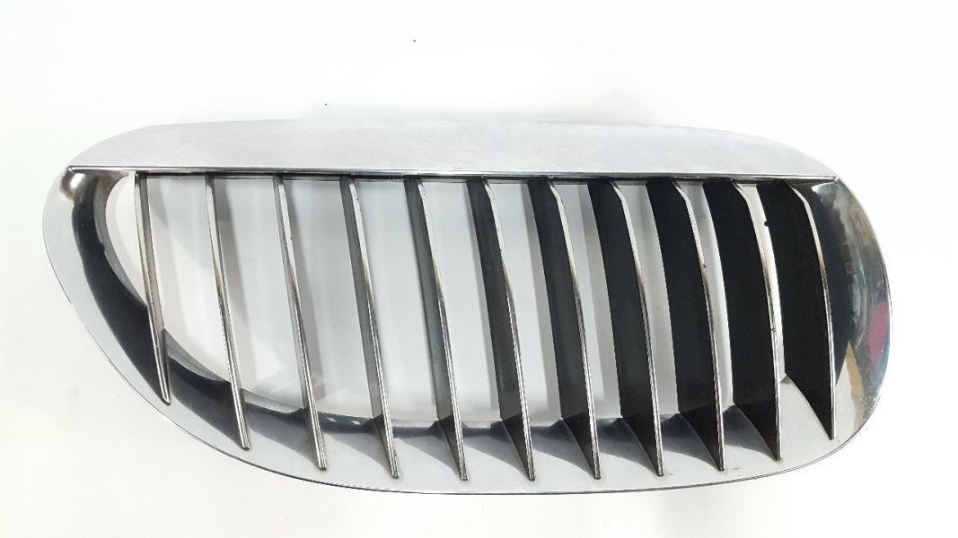 Genuine BMW E63 E64 Front Radiator Kidney Chrome Grille Right OEM 51137077932